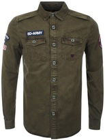 Superdry SD Army Corps Shirt Green