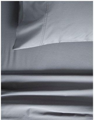 Sheridan Egyptian Blend Sateen 600TC Sheet Set in Powder Grey Grey Queen