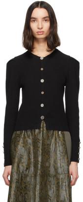 ANDERSSON BELL Black Wool Olivet Cardigan