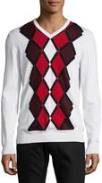 J. Lindeberg Men's Diamond Merino Wool Sweater