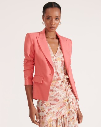 Veronica Beard Danielle Peplum-Back Dickey Jacket