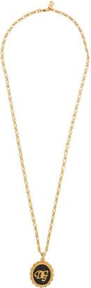 Dolce & Gabbana Gold Logo Necklace
