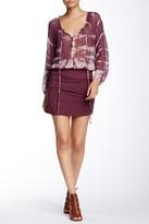 Gypsy 05 Gypsy05 Silk Shirred Mini Dress