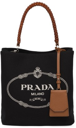 Prada small Panier canvas bag