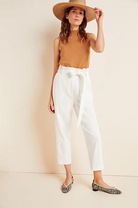 Lost + Wander Textured Paperbag-Waist Trousers