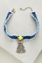 Dannijo Maitea Denim Choker Necklace