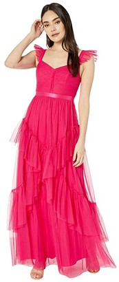 BCBGMAXAZRIA Tulle Gown (Cabaret) Women's Dress