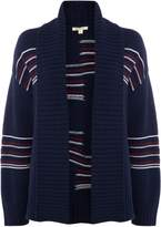 Barbour Newton Striped Knitted Cardigan