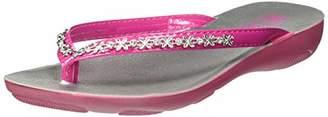 inblu Girls' Sissy Flip Flops,12.5 Child UK 12.5UK