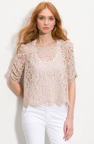 Joie 'Fanny' Sheer Lace Top
