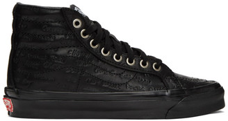 Vans Black Jim Goldberg Edition Raised By Wolves OG Sk8-High LX Sneakers