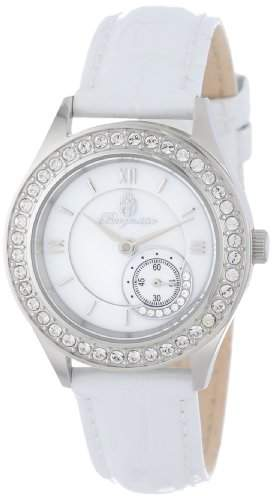 Burgmeister Domburg BM508-186 Ladies Automatic Analogue Watch with White Dial