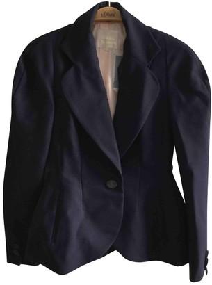 Vivienne Westwood Navy Wool Skirt for Women Vintage