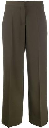Jil Sander High-Waist Flared Trousers