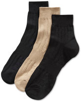 Perry Ellis Men's Mid-Crew Socks, 3 Pack