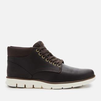 Timberland Men's Bradstreet Chukka Leather Boots - Dark Brown Full Grain