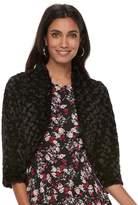 Elle Women's Faux-Fur Bolero Jacket
