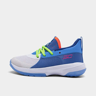Under Armour Little Kids' Curry 7 Basketball Shoes