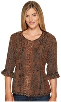 Scully Honey Creek Cherie Blouse Women's Blouse