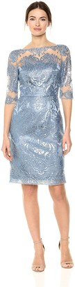 Tahari by Arthur S. Levine Women's Sequin Embroidery