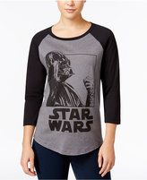 Mighty Fine Star Wars Juniors' Darth Vader Graphic Baseball T-Shirt