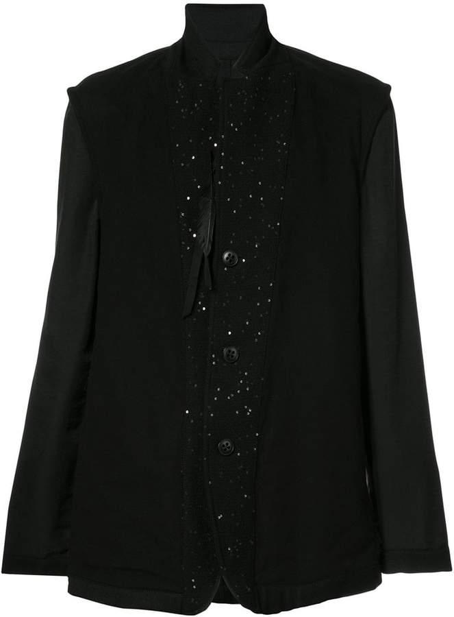 Ann Demeulemeester embellished blazer