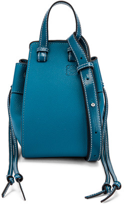 Loewe Hammock DW Mini Bag in Dark Lagoon | FWRD