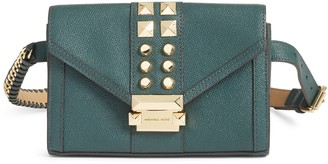 Michael Kors Studded Leather Belt Bag