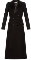 Saint Laurent Le Smoking Babydoll wool coat