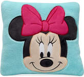 Disney Minnie Mouse Hello Gorgeous Embroidered Appliqué Plush Decorative Pillow