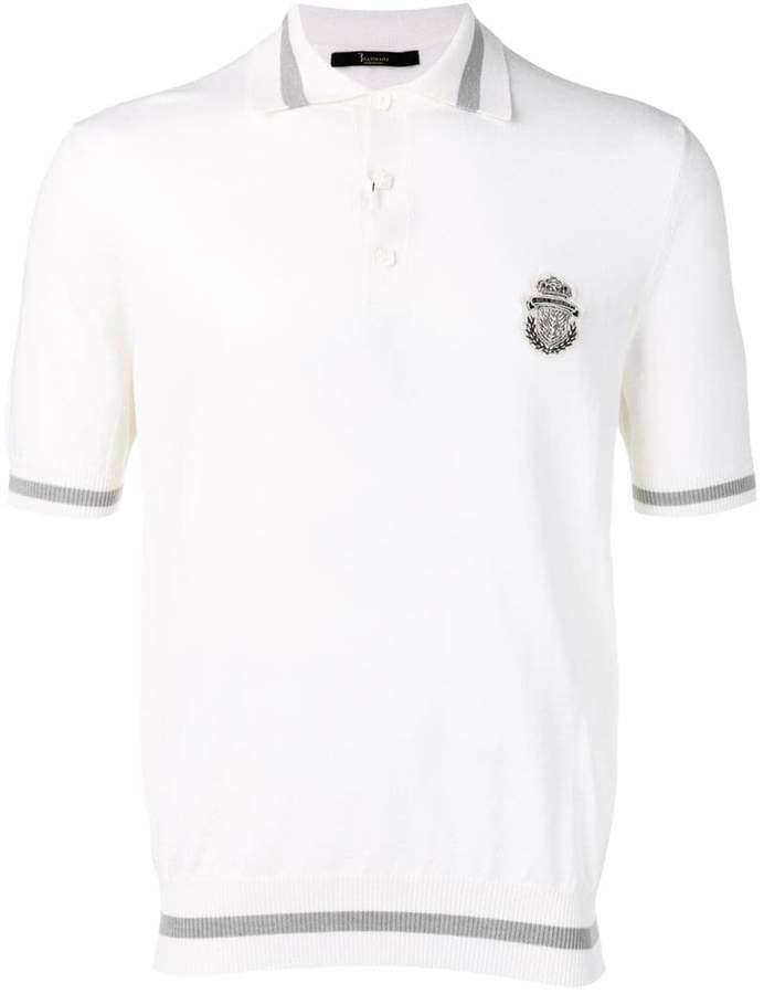 Billionaire crest polo T-shirt