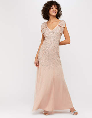 Monsoon Molly Scatter Embellished Maxi Dress