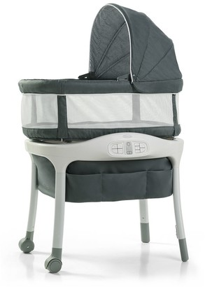 Graco Sense2Snooze Bassinet with Cry Detection Technology, Ellison
