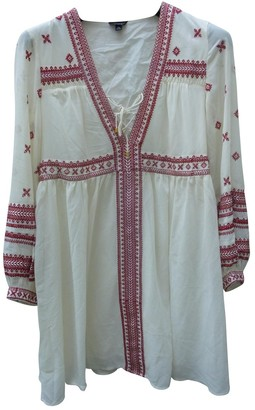 Topshop Tophop Ecru Dress for Women