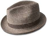 Bailey Of Hollywood Truro Chevron Straw Hat
