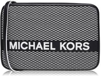 MICHAEL Michael Kors Jet Canvas Small Zip Crossbody Bag