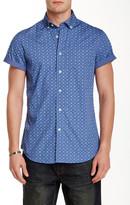 Slate & Stone Trim Fit Short Sleeve Woven Shirt