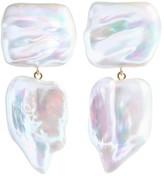 Ora Pearls XXL Sabre Duet Pearl Earrings