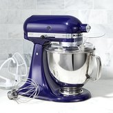 Crate & Barrel KitchenAid ® Artisan Cobalt Stand Mixer