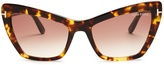 Tom Ford Valesca cat-eye sunglasses