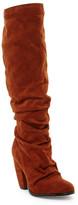 Michael Antonio Musick Ruched Block Heel Boot