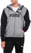 Puma Zip-Up Fleece Hoodie