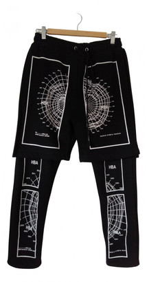 Hood by Air Black Synthetic Trousers