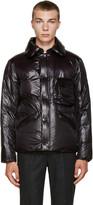 08sircus Black Nylon Down Jacket
