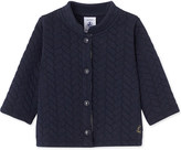 Petit Bateau Baby girl's quilted double-knit cotton cardigan 3-36 months