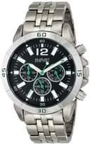 August Steiner Men's AS8111TTB Chronograph Two-tone Bracelet Watch