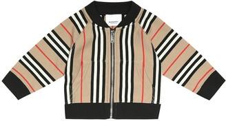BURBERRY KIDS Baby Lance cotton track jacket