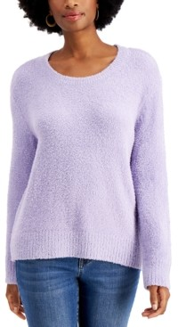 Style&Co. Style & Co Plush Sweater, Created for Macy's