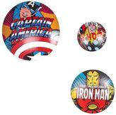 Marvel Metal Wall Badges