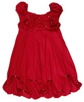 Biscotti - Unforgetable Bubble Dress (Little Kids) (Red)